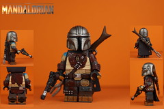 Custom LEGO Star Wars: The Mandalorian (Will HR) Tags: lego custom star wars the mandalorian minifigure figure