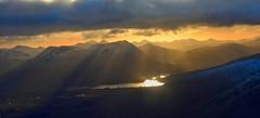 Looking SE towards Loch Tulla (_delp_) Tags: meallabhuiridh creise hill winter snow ice munro hiking scotland glencoe