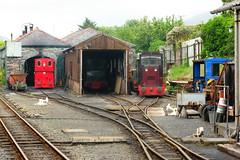 Talyllyn Railway 04-07-2007 (Joseph Collinson) Tags: talyllyn railway engineshed engine track rail works wales tywyn july 2007 summer