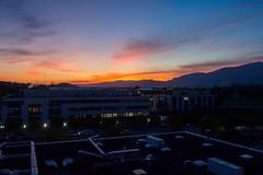 Sunset in Solothurn (Bephep2010) Tags: 2019 bergkette dscrx1 herbst industriegebiet jura rx1 schweiz sonnenuntergang sony switzerland autumn fall industrialarea mountainrange sunset solothurn