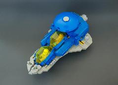 LL-443 (Wiseman_Lego) Tags: classic classicspace space lego itlug lugnet spacelug spaceship spacecraft starfigher