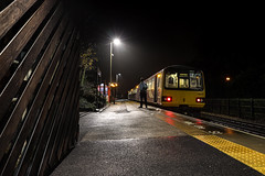 All Clear (Andrew Shenton) Tags: pacer woodlesford 144015 northern railway train night sheffield leeds