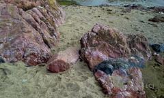 Piedras de colores, playa Rincón de Osa/ Colorful stones. Rincón, Osa canton (vantcj1) Tags: mar oceano playa rocas piedras colorido mineral arena costa viaje paseo caminata suelo tierra agua naturaleza