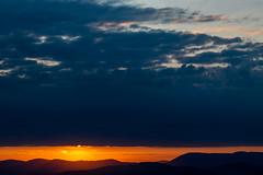 Sunrise over the mountains (Petr Vodak) Tags: beskydy bludný morava radhošť svítání východslunce sunrise daybreak orange clouds mraky hory mountains krajina landscape