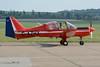 Scottish Aviation Bulldog Series 100 - G-AZHX (1971)
