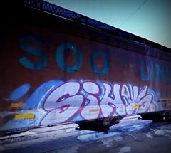 sihys (timetomakethepasta) Tags: sihys syhis rts freight train graffiti art soo line hopper