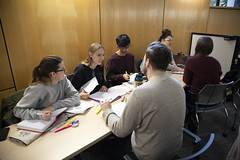 2019.12.10_library_008 (Capilano U) Tags: capilanouniversity capilanou capu capulibrary library exam examtime examperiod studying study students student groupstudy northvancouver bc canada