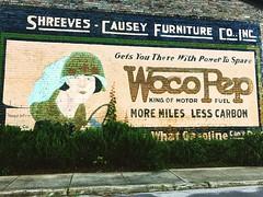 Woco Pep mural, York AL (Deep Fried Kudzu) Tags: woco pep mural driving york alabama