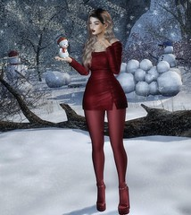 Do You Want to Build a Snowman? (Trixie Pinelli) Tags: justbecause mainstore newrelease gosboutique uber deaddollz vipgift stealthic lagyo level kunglers cosmopolitan lyrium posefair winterholiday semotion libellune animesh pet gacha rare thearcade luanesworld apparel fashion clothing shopping dress platforms shoes footwear hair hairstyle hairdressing accessories jewelry jewellery earrings necklace pose animation secondlife sl lumipro photography photographer model modelling blog blogger blogging blonde vr virtualreality virtualworld digital avatar wordpress trixiepinellicom maitreya mesh bento lelutka korina glamaffair
