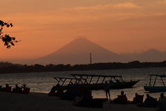 Sunset - Gili Air - Indonesia (Nicocoalala) Tags: canon 100mm l 80d voyage travel bali beach nature indonesia air gili ayung sunset