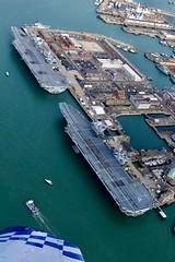 P1150029 (Andy Amor) Tags: r08 r09 ships warships pompey flightdeck docks dockyard hmnb