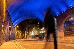 Hoodie + Winchester Walk SE1 (Malamute01) Tags: hoodie winchester walk se1 london borough market street photography night uk bridge illuminated
