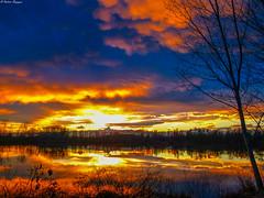 Il Monviso assiste ad un tramonto infuocato sulle acque del Po (BORGHY52) Tags: po piemonte paesaggiitaliani paesaggio paesaggi provinciaditorino torino tramonto tramontoinvernale tramonti tramontiditalia dicembre fiumepo fiume riflessi river riflesso nuvole nubi nuvoleincielo nuvolecomepensieri nuvoleinfuocate r