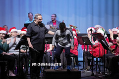 076eFB (Kiwibrit - *Michelle*) Tags: kpac winter concert winthrop performing arts center kennebec maine 120719 2019 show perform band jazz chorus sing