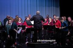 005eFB (Kiwibrit - *Michelle*) Tags: kpac winter concert winthrop performing arts center kennebec maine 120719 2019 show perform band jazz chorus sing