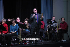 003eFB (Kiwibrit - *Michelle*) Tags: kpac winter concert winthrop performing arts center kennebec maine 120719 2019 show perform band jazz chorus sing