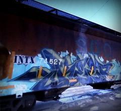 keep6 (timetomakethepasta) Tags: keep6 sdk snsr freight train graffiti art soo line hopper rusted intx