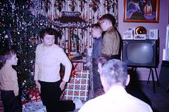 Found Photo - Vintage Christmas (Mark 2400) Tags: found photo 1950s christmas vintage