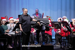 075eFB (Kiwibrit - *Michelle*) Tags: kpac winter concert winthrop performing arts center kennebec maine 120719 2019 show perform band jazz chorus sing
