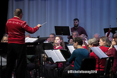 046eFB (Kiwibrit - *Michelle*) Tags: kpac winter concert winthrop performing arts center kennebec maine 120719 2019 show perform band jazz chorus sing
