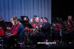 021eFB (Kiwibrit - *Michelle*) Tags: kpac winter concert winthrop performing arts center kennebec maine 120719 2019 show perform band jazz chorus sing