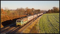 NMBS 2716 @ Hennuyères (Steven De Haeck) Tags: hennuyères brainelecomte hainaut henegouwen belgië belgique nmbs sncb hle27 m4m ic intercity turnhout binche