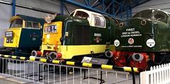 Diesel Power (White Pass1) Tags: d1023 d9002 d200 nrm york nationalrailwaymuseum diesellocomotives disels locomotives