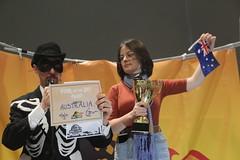 Climate striker Daisy accepts #FossiloftheDay award for Australia at #COP25 - Dec 10 - IMG_7170 (John Englart (Takver)) Tags: fotd cop25 climate climatechange climateactionnetwork can australia fossiloftheday