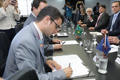 Assinatura de Acordo de Cooperação Técnica entre SEBRAE e CAIXA (sebrae_nacional) Tags: sebrae sebraena sebraenacional presidentecarlosmelles diretoreduardodiogo caixa assinatura de acordo cooperação técnica entre e