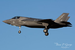 F35B-007-ZM141-4-12-19-RAF-MARHAM-(8) (Benn P George Photography) Tags: rafmarham 41219 bennpgeorgephotography lockheedmartin f35b lightningii 007 zm141 jsf jointstrikefighter royalairforce 617sqn 208sqn lightningstrikeforce norfolk nikond7100 nikon200500