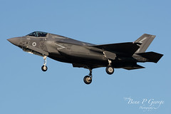 F35B-007-ZM141-4-12-19-RAF-MARHAM-(7) (Benn P George Photography) Tags: rafmarham 41219 bennpgeorgephotography lockheedmartin f35b lightningii 007 zm141 jsf jointstrikefighter royalairforce 617sqn 208sqn lightningstrikeforce norfolk nikond7100 nikon200500