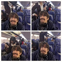On the Airplane (earthdog) Tags: 2019 googlepixel4 pixel4 androidapp moblog cameraphone self selfie 4x armslength earthdog airplane southwest