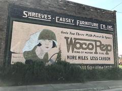 Woco Pep, York AL (Deep Fried Kudzu) Tags: woco pep mural york alabama