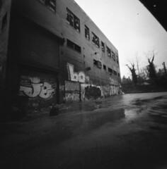 (Tattooed Film Shooter) Tags: city cityscape pinhole pinholephotography 120film 6x6