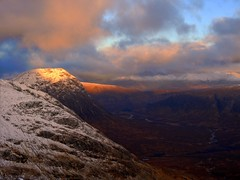 Glencoe, looking in the direction of Old Military Road (_delp_) Tags: meallabhuiridh creise hill winter snow ice munro hiking scotland glencoe