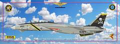 f-14 USS Nimitz publ (gaucho_59) Tags: profiles warplanes f grumman f14 tomcat