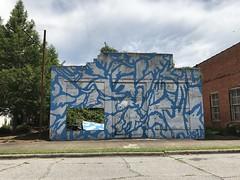 Blue Building, York AL (Deep Fried Kudzu) Tags: blue building york alabama