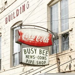 Busy Bee, Laurel MS (Deep Fried Kudzu) Tags: busy bee news coins pipe shop coke cocacola laurel mississippi