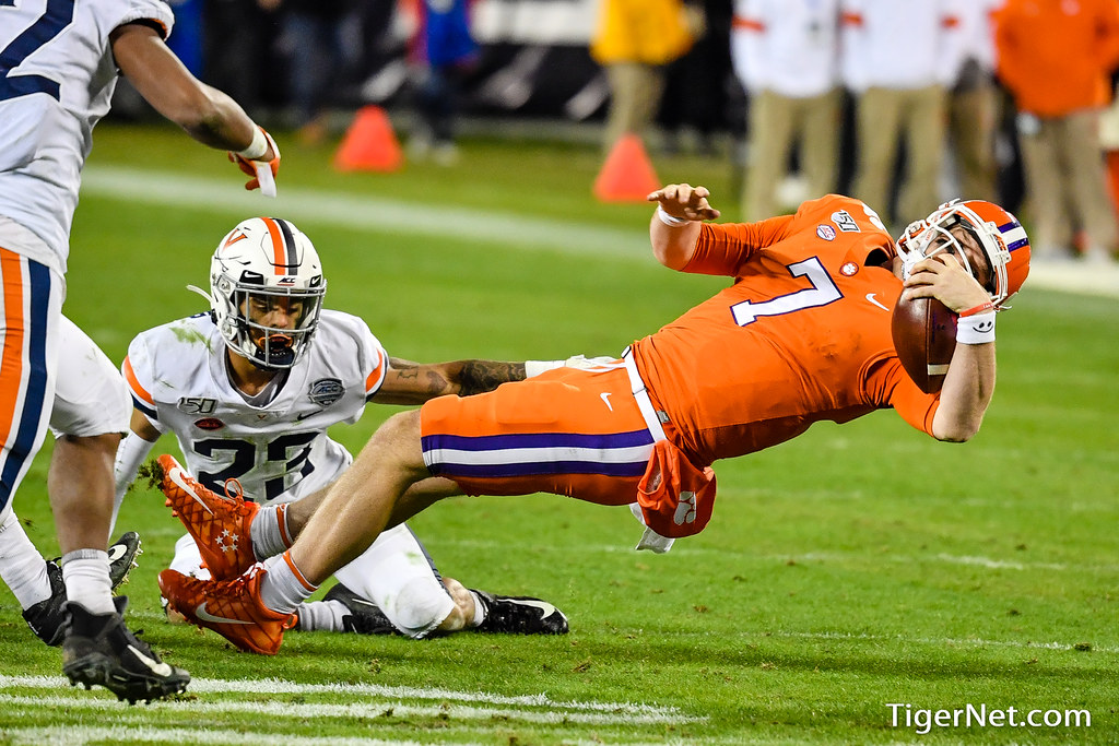 Clemson Photos: Chase  Brice, 2019, Football, Virginia