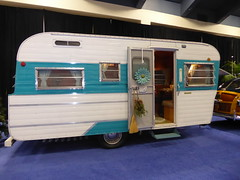Holiday Rambler Camper (c_nilsen) Tags: sanfrancisco sanfranciscoautoshow car vehicle mosconecenter digital digitalphoto california holidayrambler camper