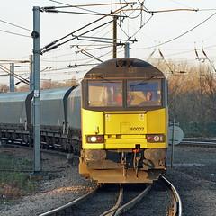 GB Railfreight 60002 - York (Neil Pulling) Tags: gbrailfreight60002 york class60 60002 locomotive railway yorkstation locomotives railways railfreight freighttrain train