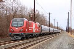 IMG_9758 (NorthEast Railfan) Tags: nec amtrak bear cocacola coke pantograph south edgewood maryland corridor signals acs64