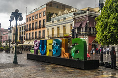 Puebla, Mexico (Flipped Out) Tags: mexico puebla zocalo