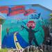 Non-Violence Mural on Treasure Island, San Francisco