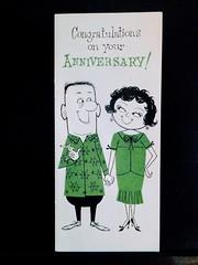 Old Anniversary Card (DavidK-Oregon) Tags: card anniversary old memory cute nostalgia