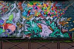 Street Art Montrouge (Edgard.V) Tags: montrouge paris périphérique street art urban urbano arte callejero mural graffiti