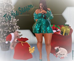Tis the Season to be Jolly (★ Lights.Camera.Diva ★) Tags: virtual diva couture
