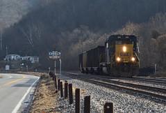 Church Goer (Tristan_Miller) Tags: csx deepwater local freight train church sign chelyan wv west virginia