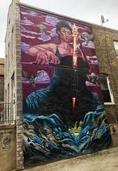 A Parting of Ways by Czr Prz (wiredforlego) Tags: graffiti mural streetart urbanart aerosolart publicart pilsen chicago illinois ord czrprz