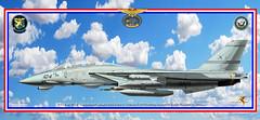 F-14B VF-32 Swordsmen publ (gaucho_59) Tags: warplanes profiles f14 tomcat vf32 usn uss truman